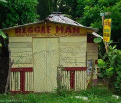 The Reggae Man in Negril