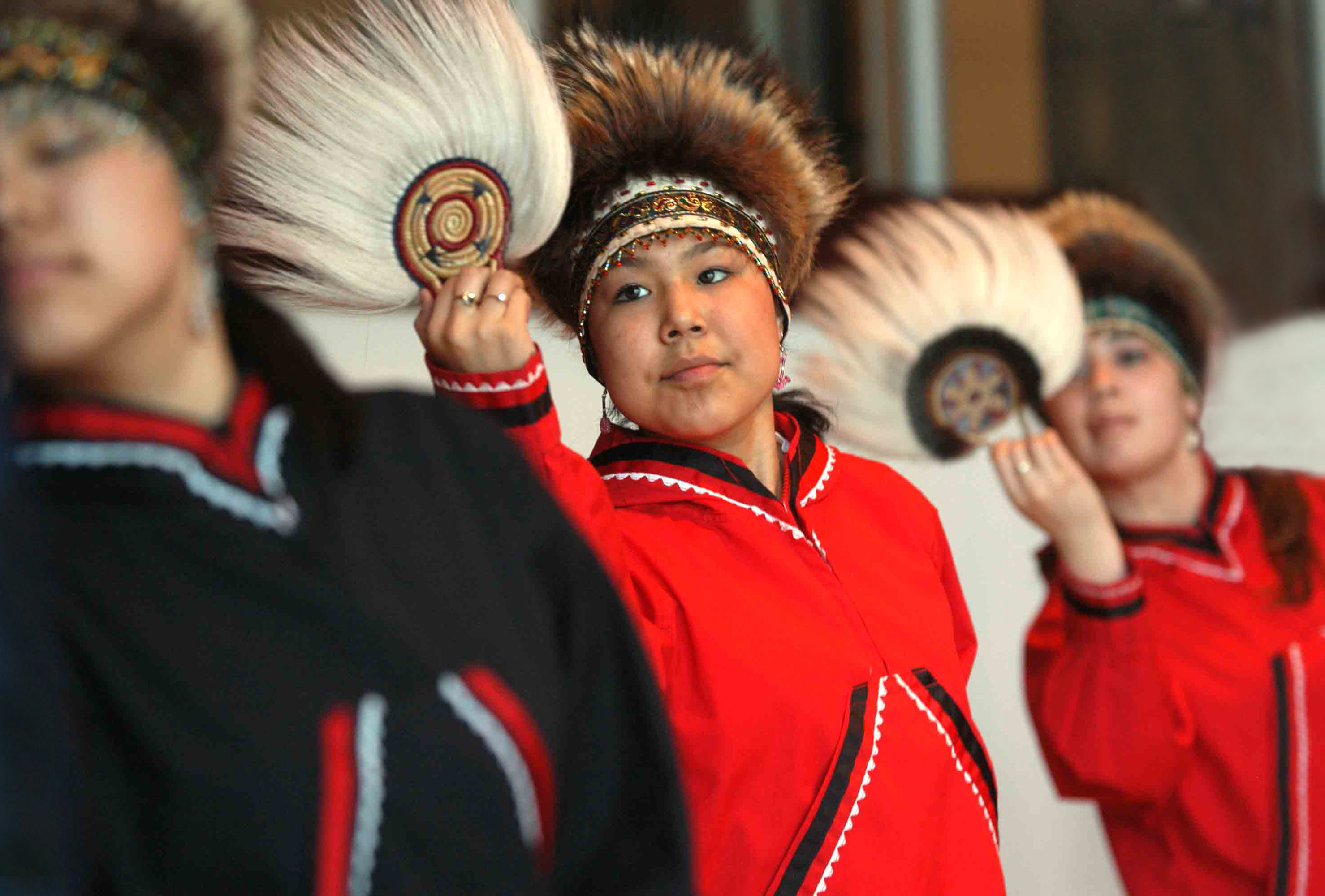 Alaska Native Heritage Dancers – Courtesy of Alaska Native Heritage Center