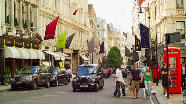 Bond Street Shopping Courtesy of VisitLondon