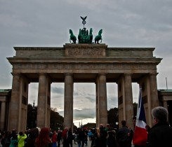 Brandenberg Gate Berlin - Courtesy of Terri Lundberg