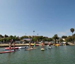 Carlsbad Lagoon Paddle Board - Courtesy of CL