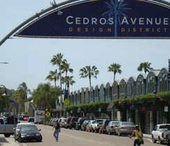 Cedros Avenue - Courtesy of Solana Beach Chamber