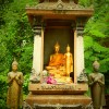 Buddha and temple