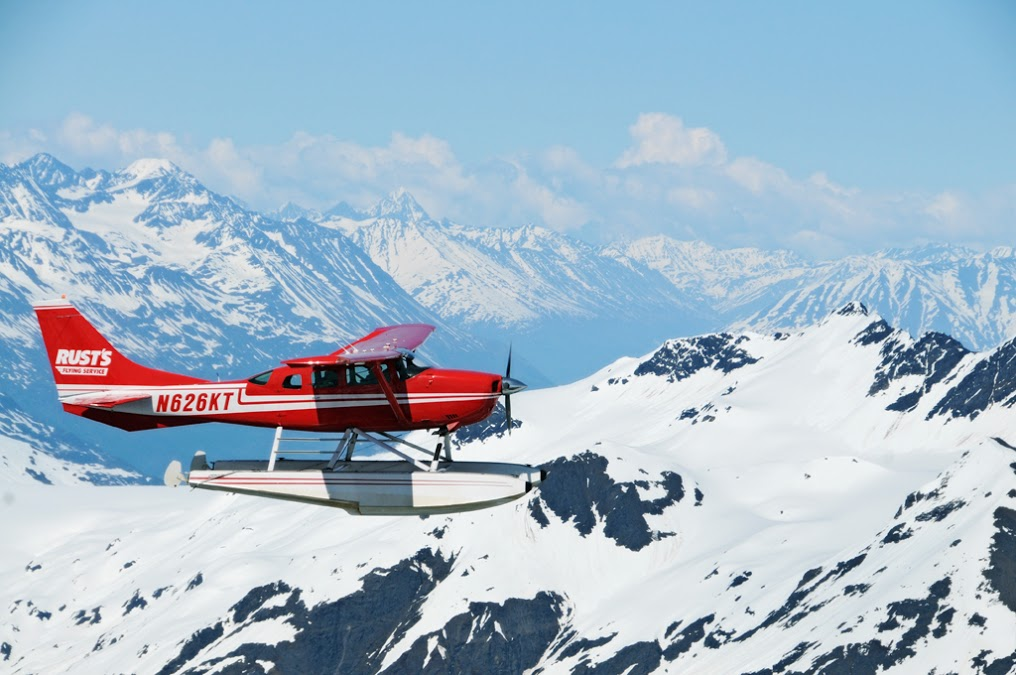Flightseeing tour over Denali