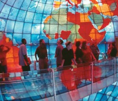 Exhibit-Mapparium Courtesy of The Mary Baker Eddy Library