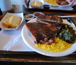 Jack's Bar-B-Que Plate 2