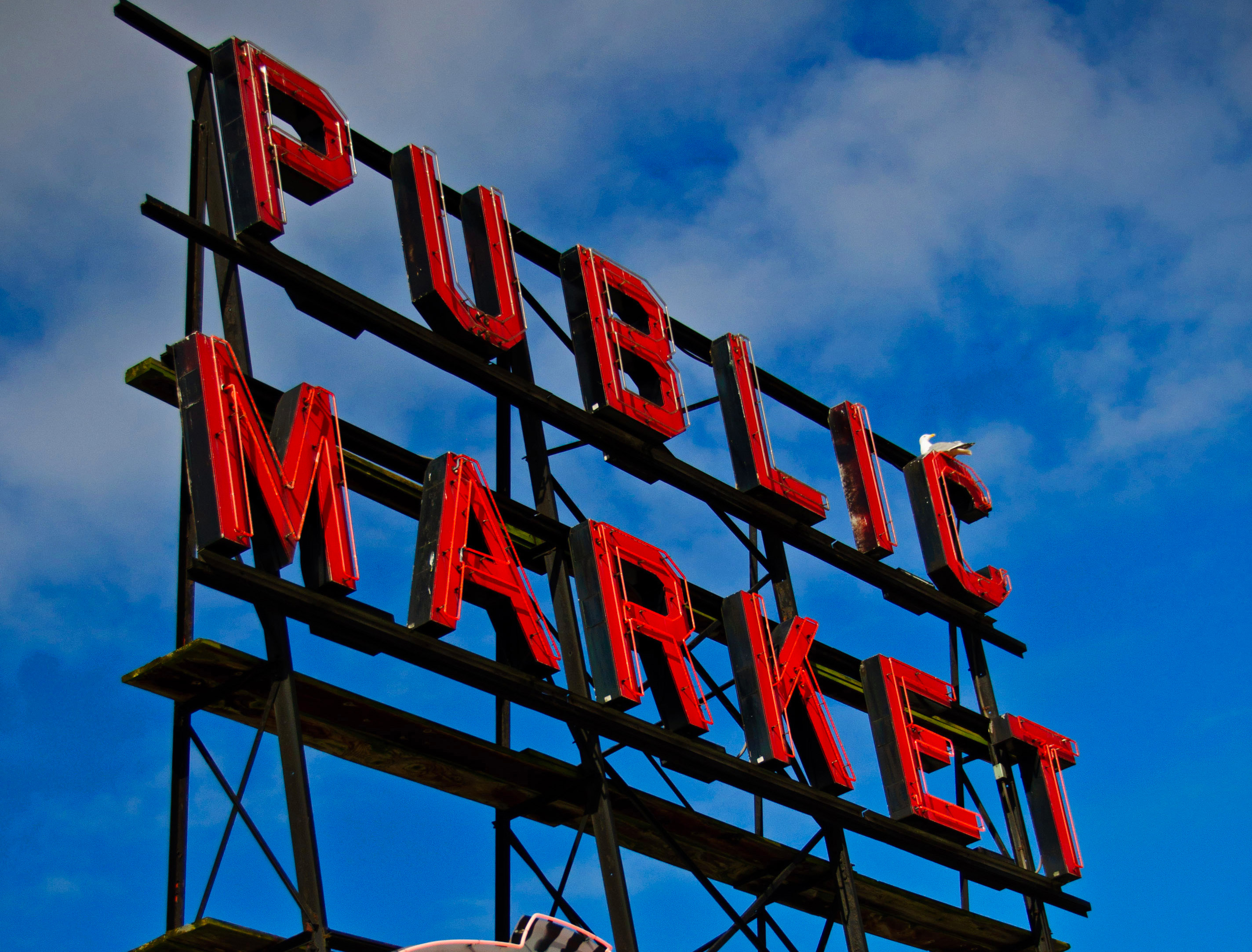 Pikes Place Market Sign Cropped