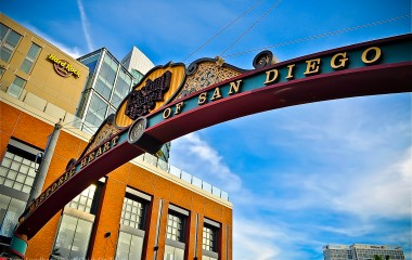 San Diego Gaslamp Quarter Sign
