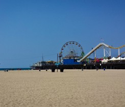 Santa Monica Pier Courtesy of Roland Lundberg