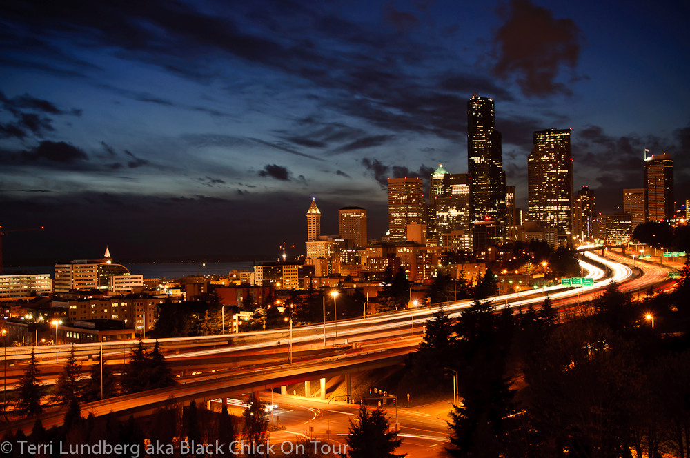 Seattle Skyline from Beacon Hill 2