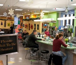 Snow City Cafe, Anchorage's most popular breakfast spot, photo credit Oscar Avellaneda