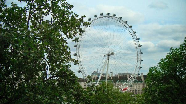 The London Eye from The Royal Horseguards Courtesy of Terri Lundberg
