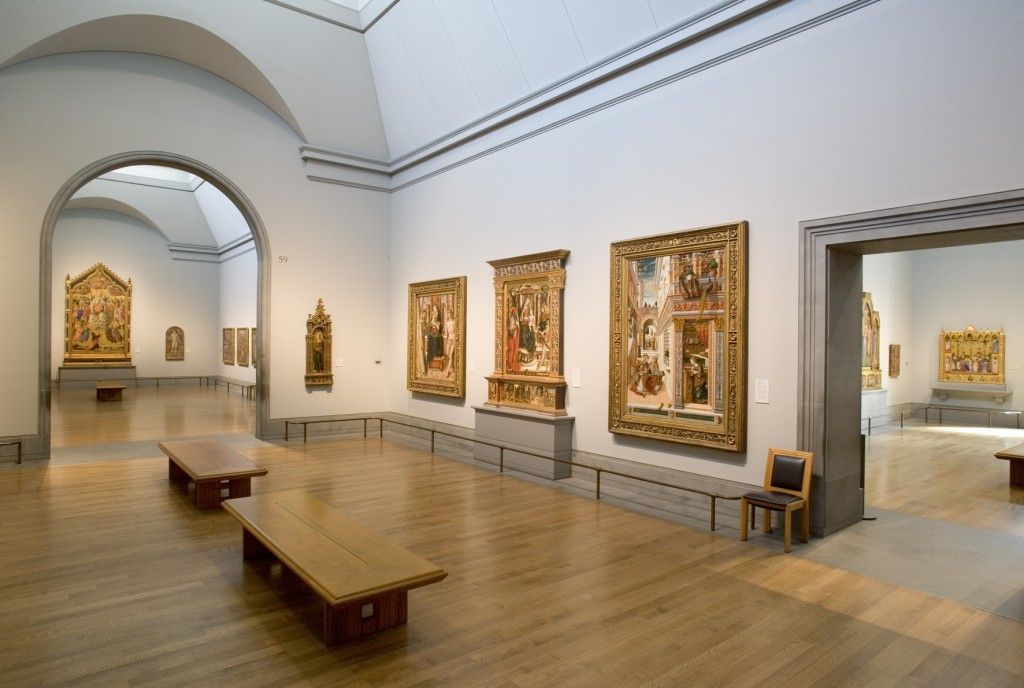 The National Gallery Sainsbury Wing - Courtesy of NG