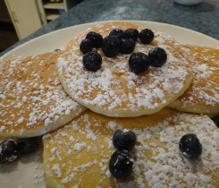 The Pancake Pantry Pancakes with Blueberries - Courtesy of PP