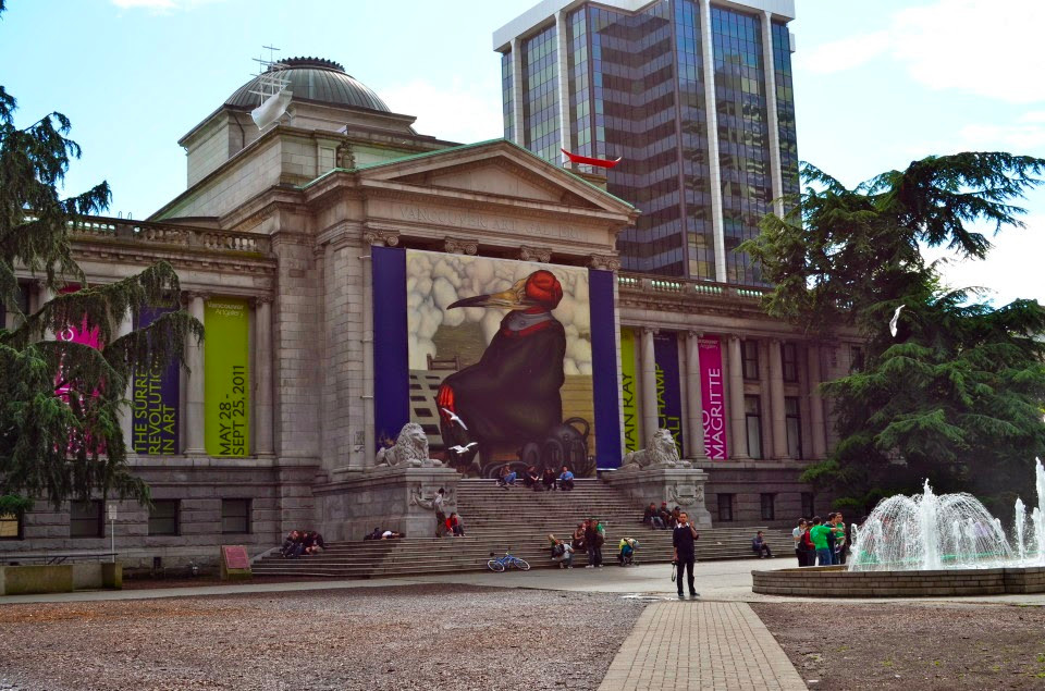 Vancouver Art Gallery Courtesy of Murissa Shalapata