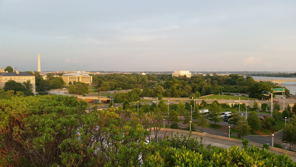 Washington DC View from The Kennedy Center Courtesy of Dee Bell