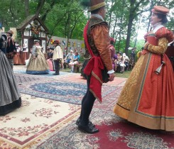 Formal Dance at the Bristol Ren Faire