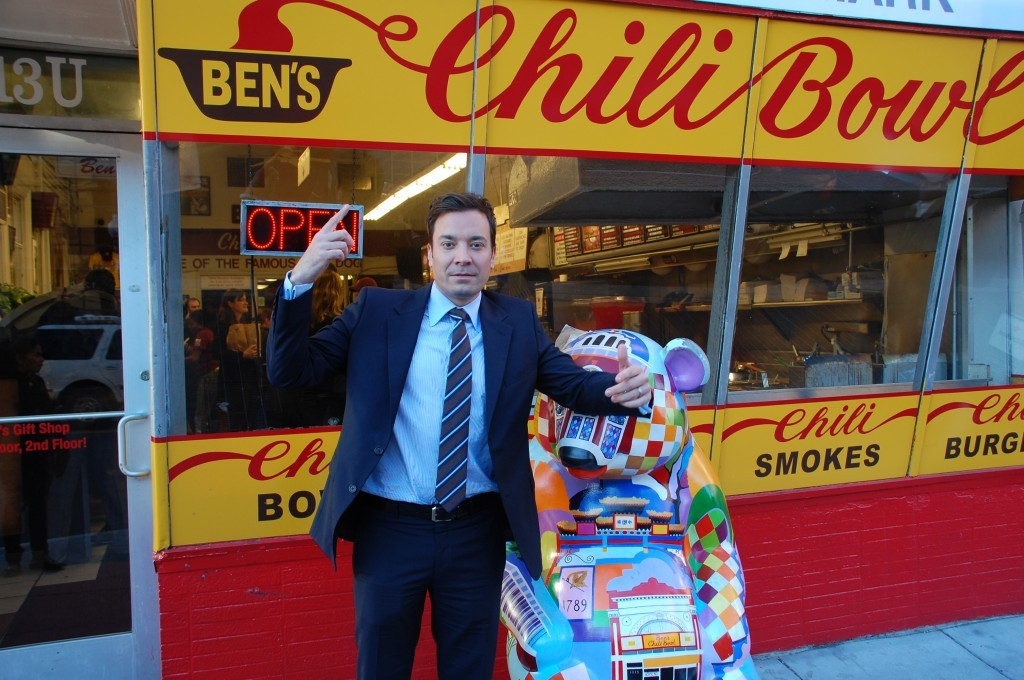Jimmy Fallon at Ben's Chili Bowl
