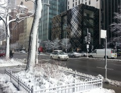 The Magnificent Mile in Winter