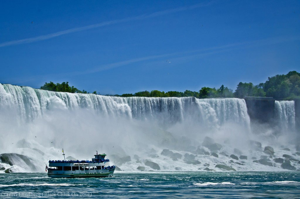 Maid of the Mist, in the Mist.