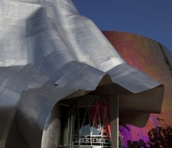 Seattle Music Project by architect Frank O. Gehry