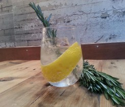 Ben's Canteen Gin Mare & Tonic with Lemon Twist and Rosemary