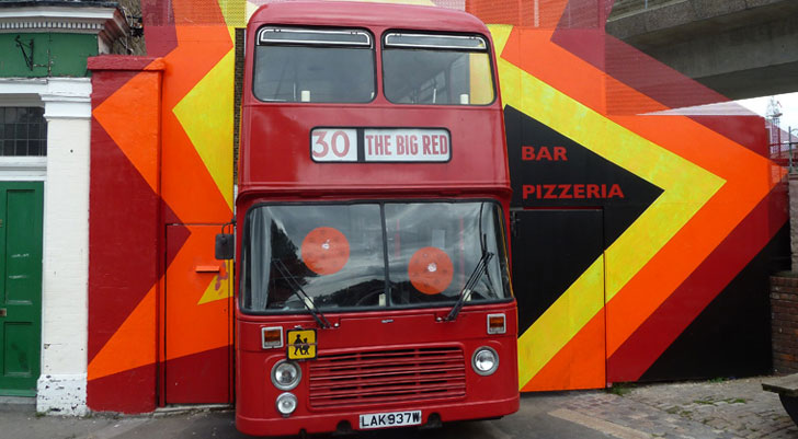 Big Red Pizza Bus 2