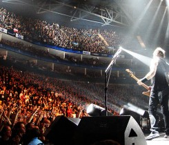 Metallica_O2_Arena Courtesy of Mark Wainwright