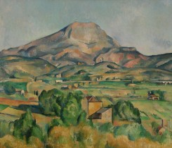 The Barnes Foundation Paul Cézanne Mont Sainte-Victoire
