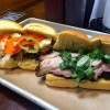 Fette Sau Philadelphia Pulled Port and Pork Belly Sandwiches