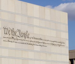 National_Constitution_Center-exterior Courtesy of Jeffrey M. Vinocur