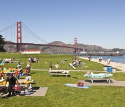 Crissy Field West Bluffs Picnic Area Courtesy of The Presidio