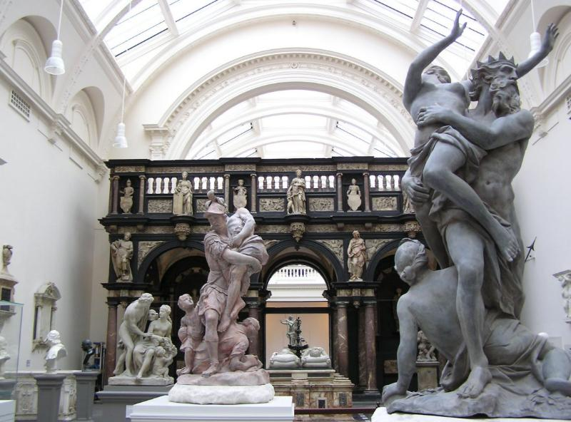 Hall of Replicas at the Victoria & Albert Museum