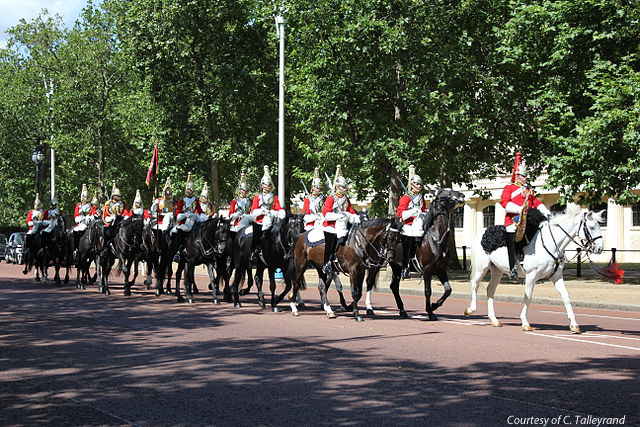 Royal Horse Guard Parade Courtesy of C Talleyrand copy