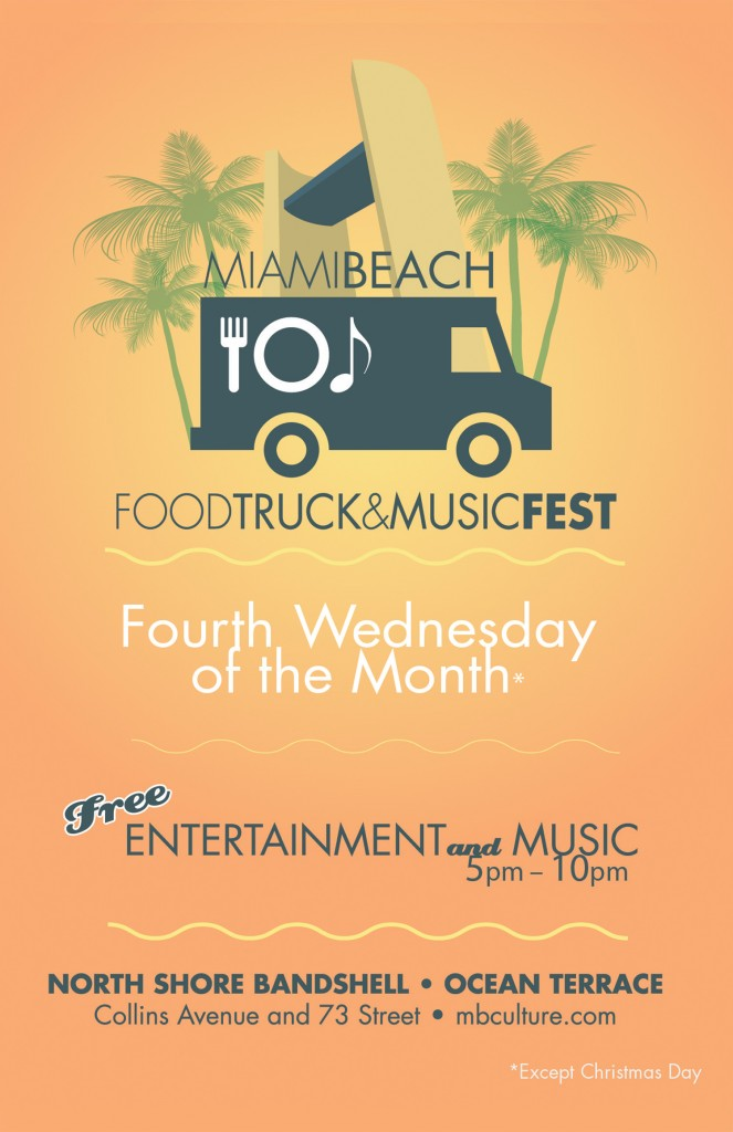 Miami - Miami Beach Food Truck and Music Fest