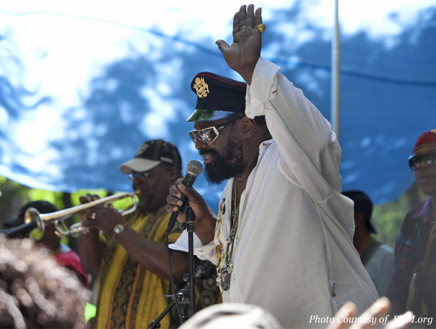 George Clinton on the BAM R&B Festival.