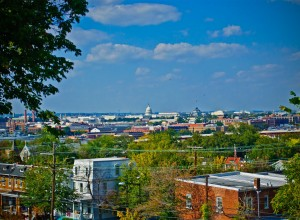 Territorial View of Washington DC.