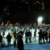 Bryant Park Ice Skating and Holiday Market.