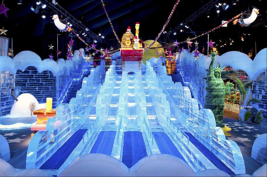 ice at the gaylord palms - Christmas At Gaylord Palms