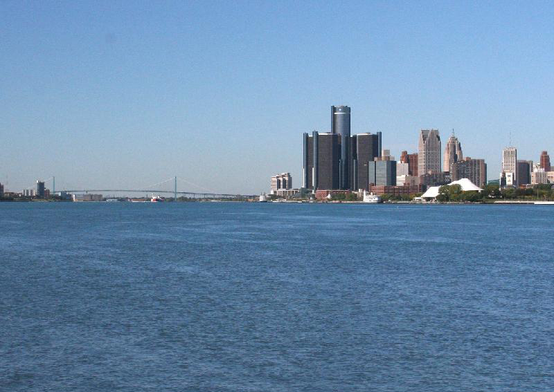 Detroit Water View