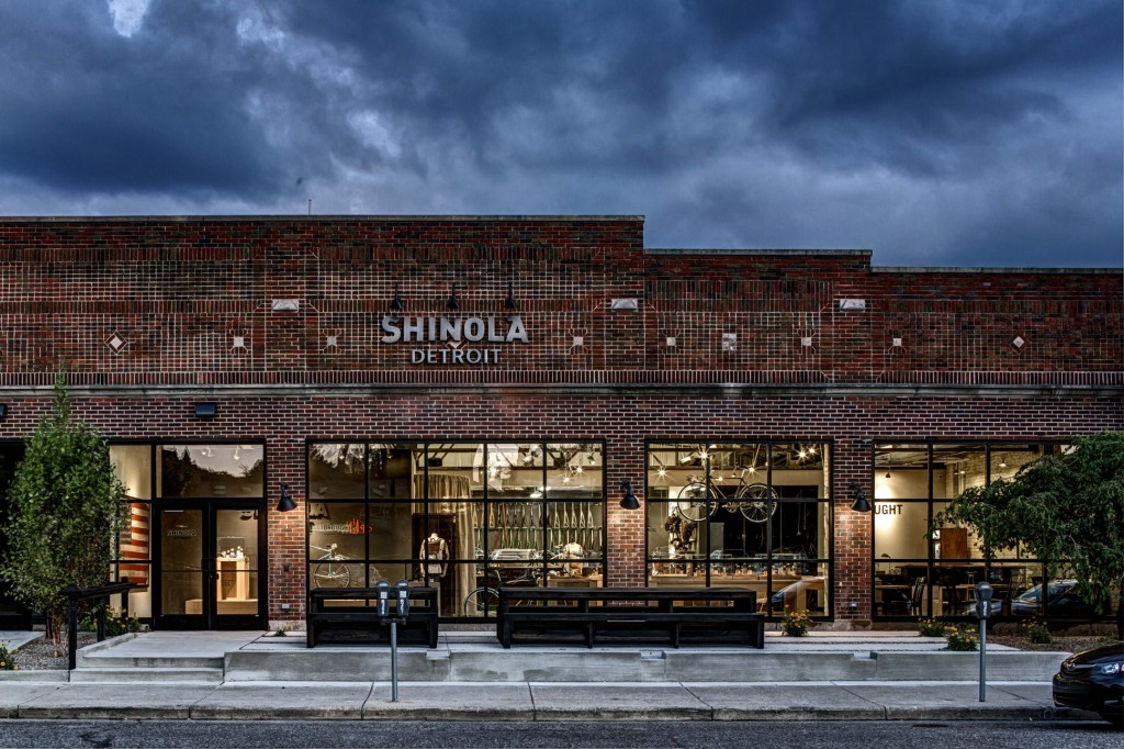 Shinola Detroit Store Courtesy of Forbes