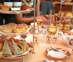 Afternoon Tea at Fairmont Hotel Vancouver