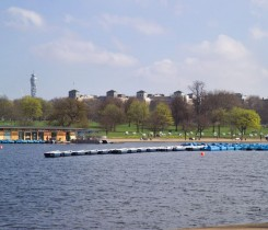 Boats on the Serpentine - Courtesy of Royalparks