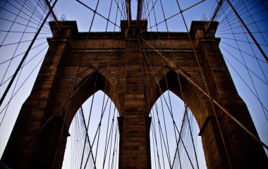 Brooklyn Bridge Cables and Structure Courtesy of Terri Lundberg