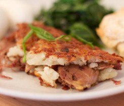 Egg Duck Confit in Hash Brown Courtesy of Egg