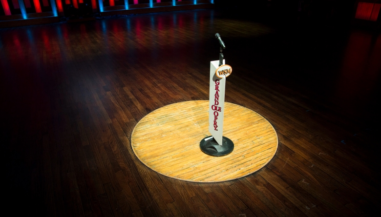 Grand Ole Opry House Stage – Famed Circle of Wood Courtesy of GOO