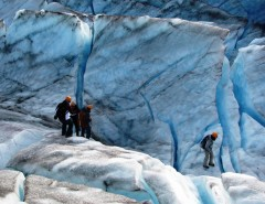 Heli Hiking and Ice Climbing Courtesy of Ascending Path