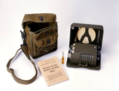 International Spy Museum COLLECTION HIGHLIGHT -- M-209 CIPHER MACHINE (Circa 1943) Courtesy of ISM