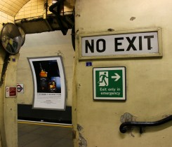 London Don't Irritate The Locals on The Tube - Sara Doucette