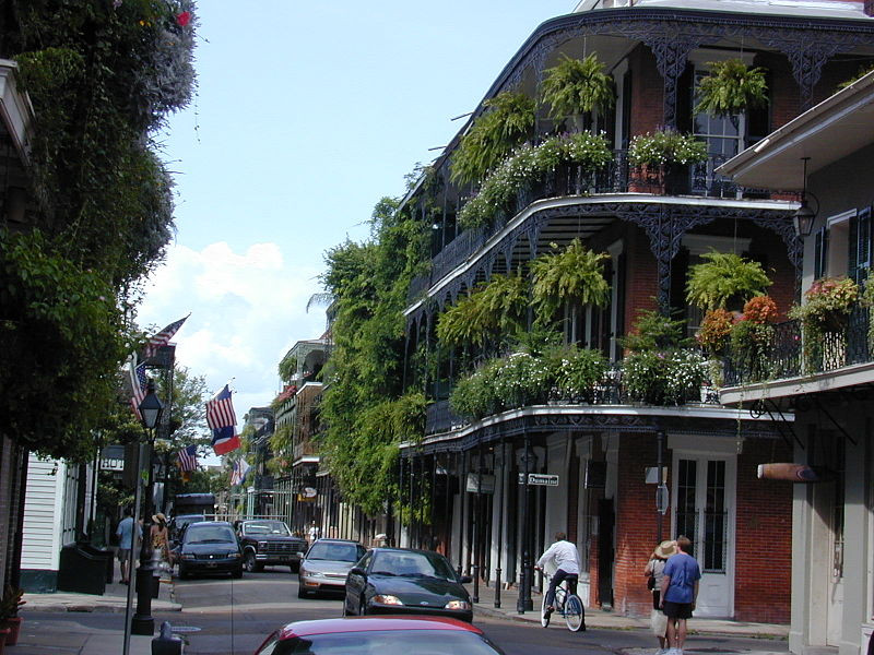 New Orleans French Quarter Royal Street Courtesy of Jan Kronsell